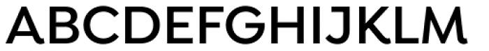 Isidora Semi Bold Font UPPERCASE