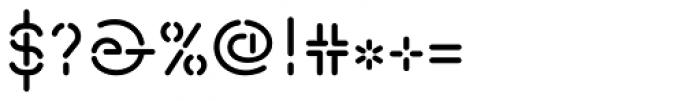 Isometrik SC Font OTHER CHARS