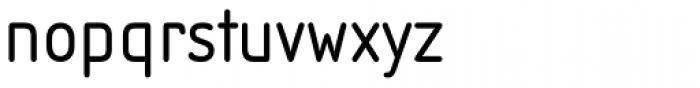 Isonorm B EF Regular Font LOWERCASE