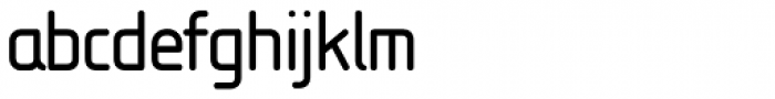 Isonorm MN Font LOWERCASE