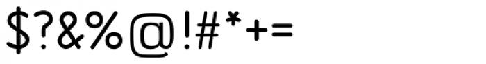 Isonorm SB Regular Font OTHER CHARS
