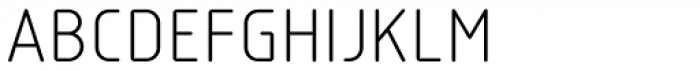 Isotope Book Font UPPERCASE
