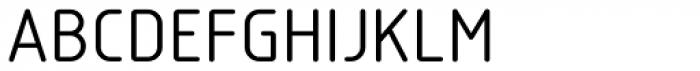Isotope Medium Font UPPERCASE
