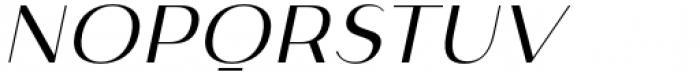 Istanbul Type 300 Light Italic Font UPPERCASE
