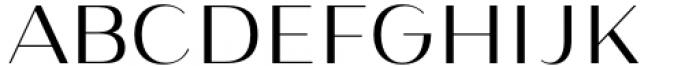 Istanbul Type 300 Light Font UPPERCASE