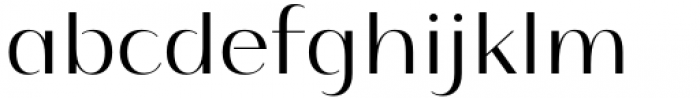 Istanbul Type 300 Light Font LOWERCASE