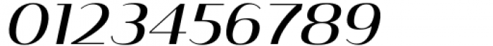 Istanbul Type 500 Regular Italic Font OTHER CHARS