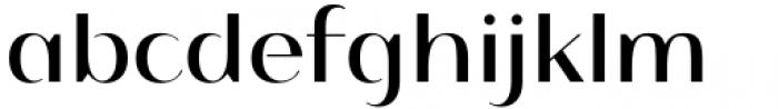 Istanbul Type 500 Regular Font LOWERCASE