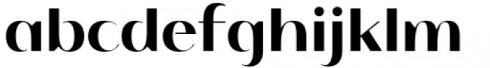 Istanbul Type 700 Medium Font LOWERCASE