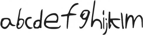 It Ain't Rocket Science ttf (400) Font LOWERCASE