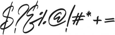 Italian Horskey otf (400) Font OTHER CHARS