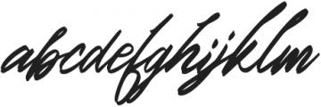 Italian Horskey otf (400) Font LOWERCASE