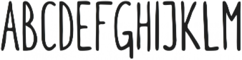 Itchy Handwriting ttf (400) Font UPPERCASE