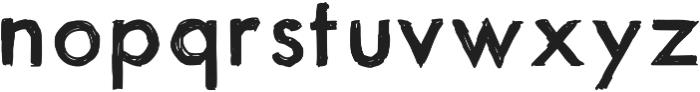 ItsaSketch otf (400) Font LOWERCASE