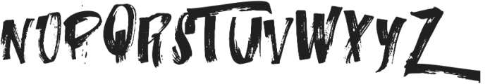 iTalian-o Regular ttf (400) Font UPPERCASE