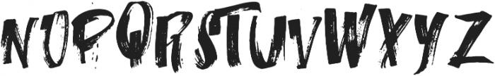 iTalian-o Regular ttf (400) Font LOWERCASE