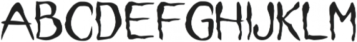 it font ttf (400) Font UPPERCASE