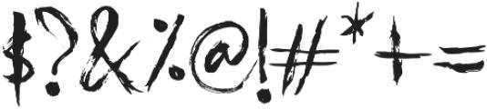 itaki otf (400) Font OTHER CHARS