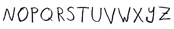 It Really Works Regular Font UPPERCASE