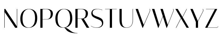 Italiana Font UPPERCASE