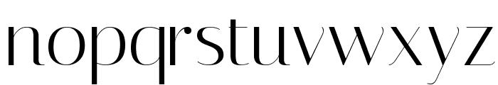 Italiana Font LOWERCASE