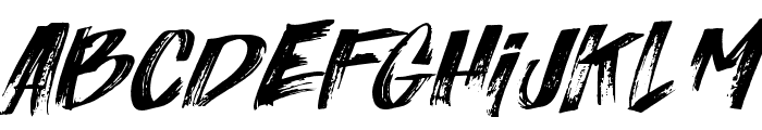 Italiano  Font UPPERCASE