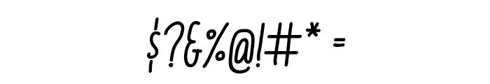Italo Medium Italic Font OTHER CHARS