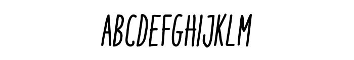 ItaloMediumItalic Font UPPERCASE