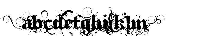 Ithorn Font UPPERCASE