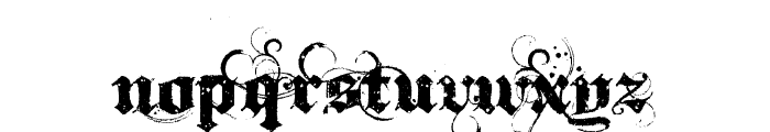 Ithorn Font LOWERCASE
