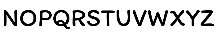 Itim-Regular Font UPPERCASE