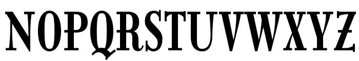 ItingOpti-BoldCondensed Font UPPERCASE