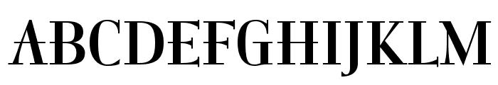 ItingOpti-Regular Font UPPERCASE