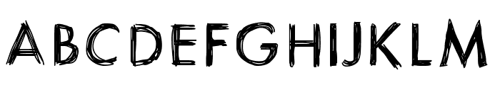 ItsaSketch Font UPPERCASE
