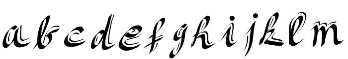 Itsbeautiful Font LOWERCASE