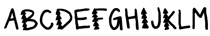 its beginning to look a lot like christmas Font UPPERCASE