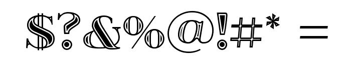 itsadzokeS01  Font OTHER CHARS