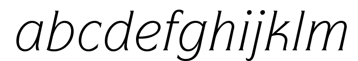 ITCSymbolStd-BookItalic Font LOWERCASE