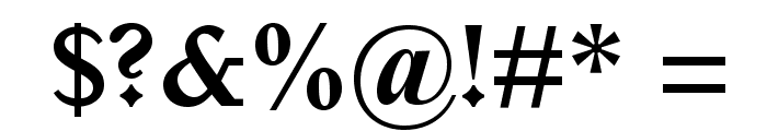 ItalianOldStyleMTStd-Bold Font OTHER CHARS