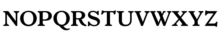 ItalianOldStyleMTStd-Bold Font UPPERCASE