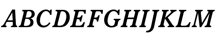 ItalianOldStyleMTStd-BoldIt Font UPPERCASE