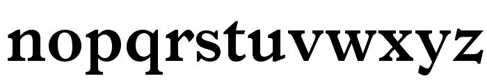 ItalianOldStyleMTStd-Bold Font LOWERCASE