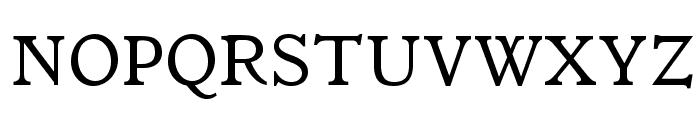 ItalianOldStyleMTStd Font UPPERCASE