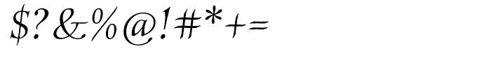 ITC Anima Italic Font OTHER CHARS
