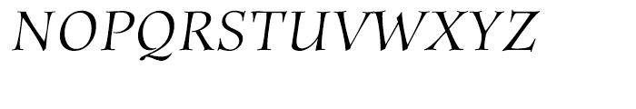 ITC Anima Italic Font UPPERCASE