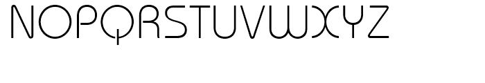 ITC Bauhaus Light Font UPPERCASE