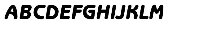 ITC Benguiat Gothic Heavy Oblique Font UPPERCASE