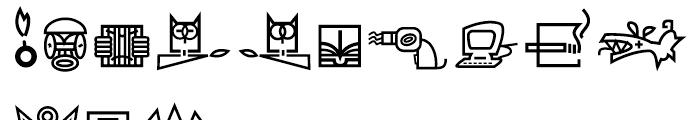 ITC Beorama PI Font LOWERCASE