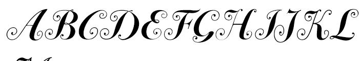 ITC Bodoni 72 Swash Bold Font UPPERCASE