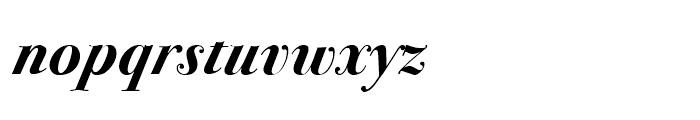 ITC Bodoni 72 Swash Bold Font LOWERCASE